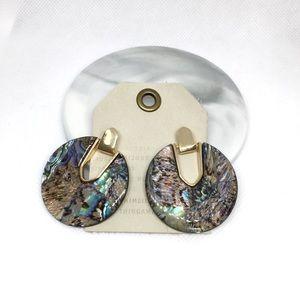 NWT Anthropologie resin earrings